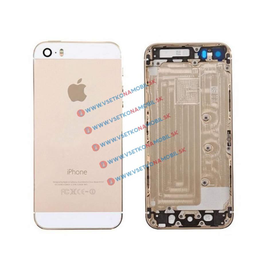 UNBRANDED Apple iPhone 5S zadný kryt OEM + malé časti zlatý