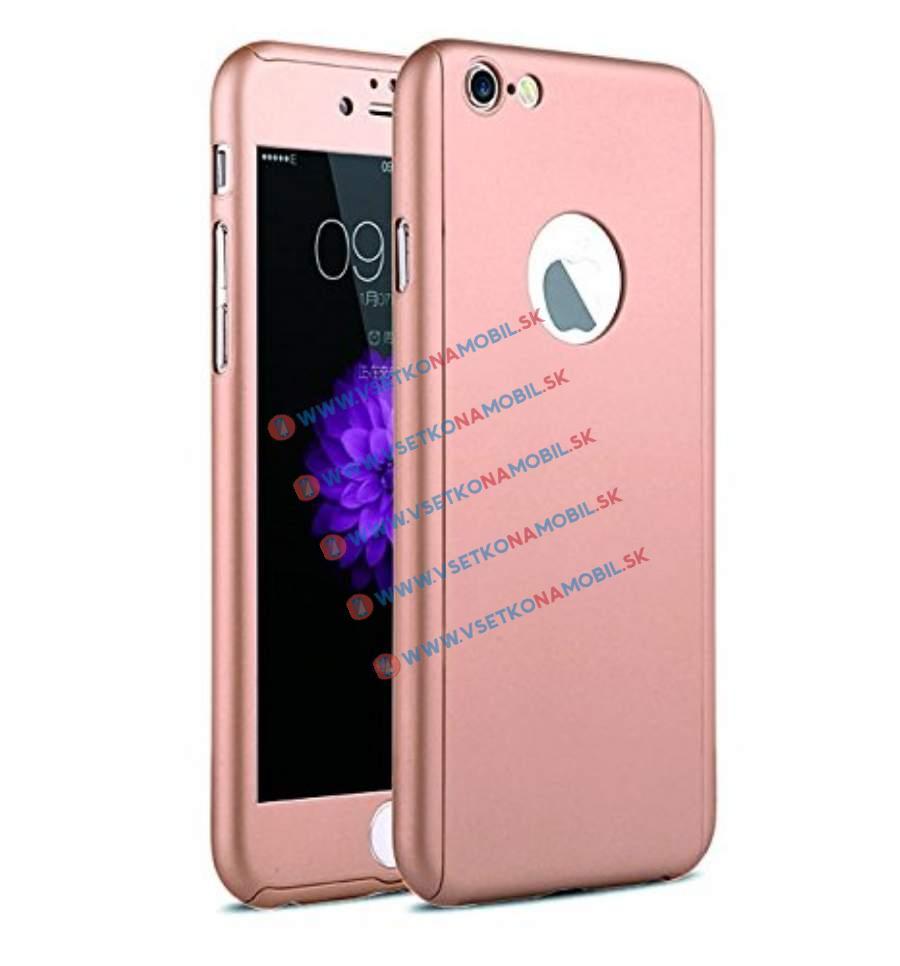 IPAKY 360 ° Ochranný obal + tvrzené sklo Apple iPhone 6   6S růžový 11a265b1efa