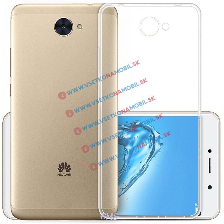 FORCELL Silikónový obal Huawei Y7 priehľadný