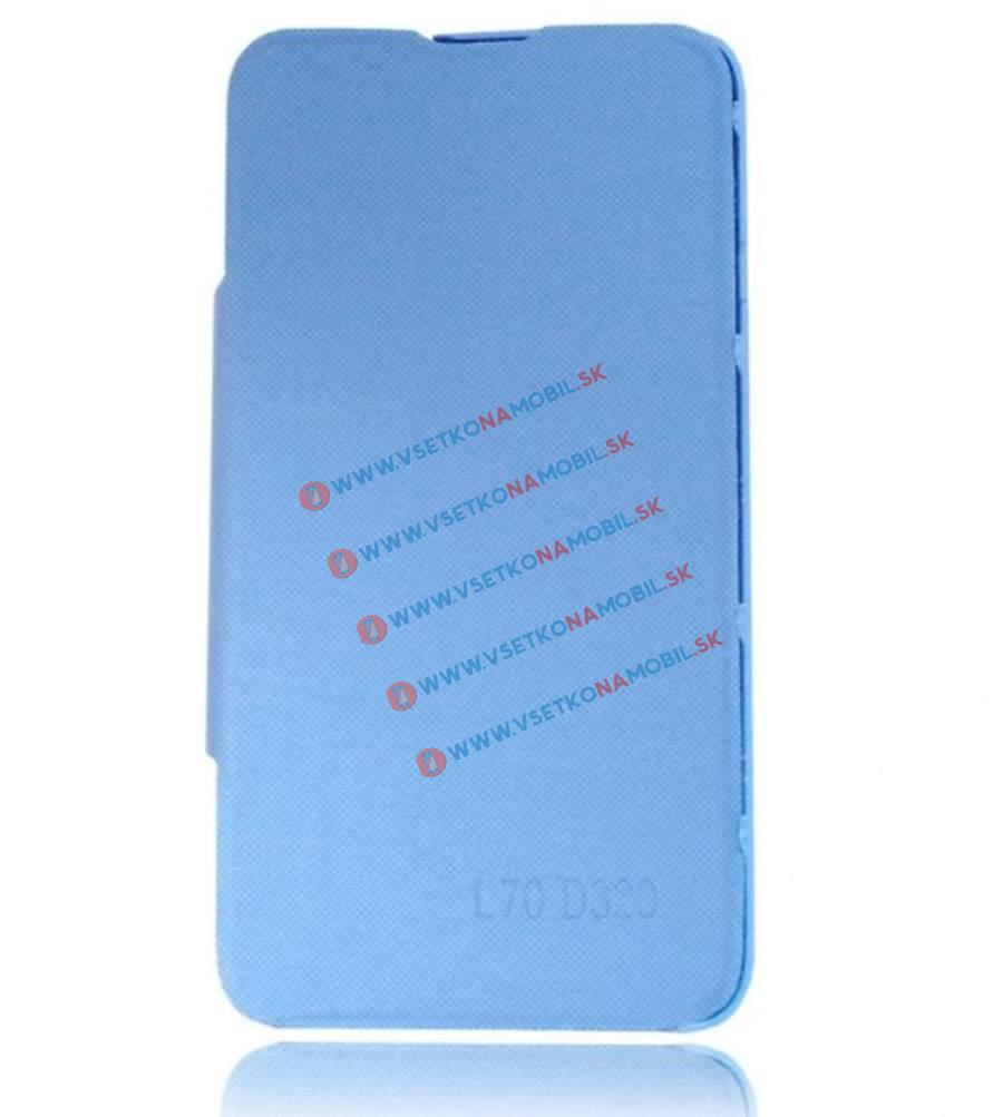 FLIP COVER LG L70 modrý