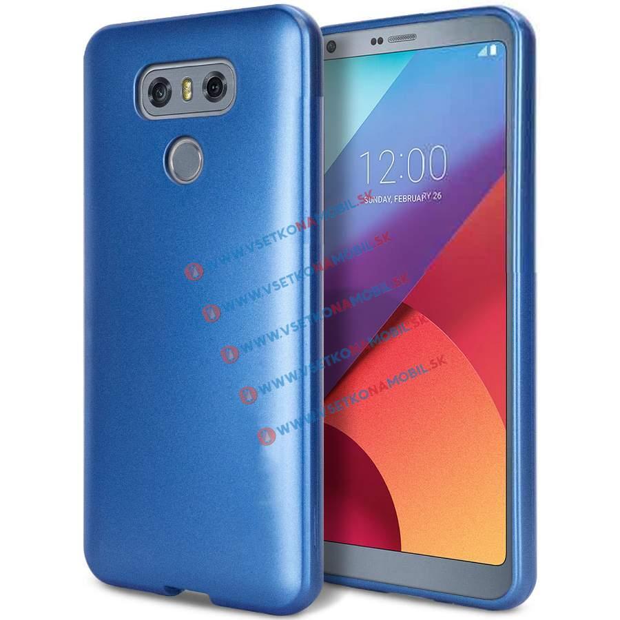 FLASH Gumený obal LG G6 modrý