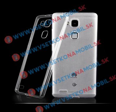 FORCELL Silikónový obal Huawei Mate 7 priehľadný