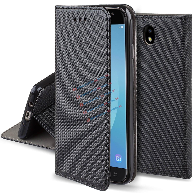 FORCELL MAGNET Peňaženkový obal Samsung Galaxy J3 2017 (J330) čierny