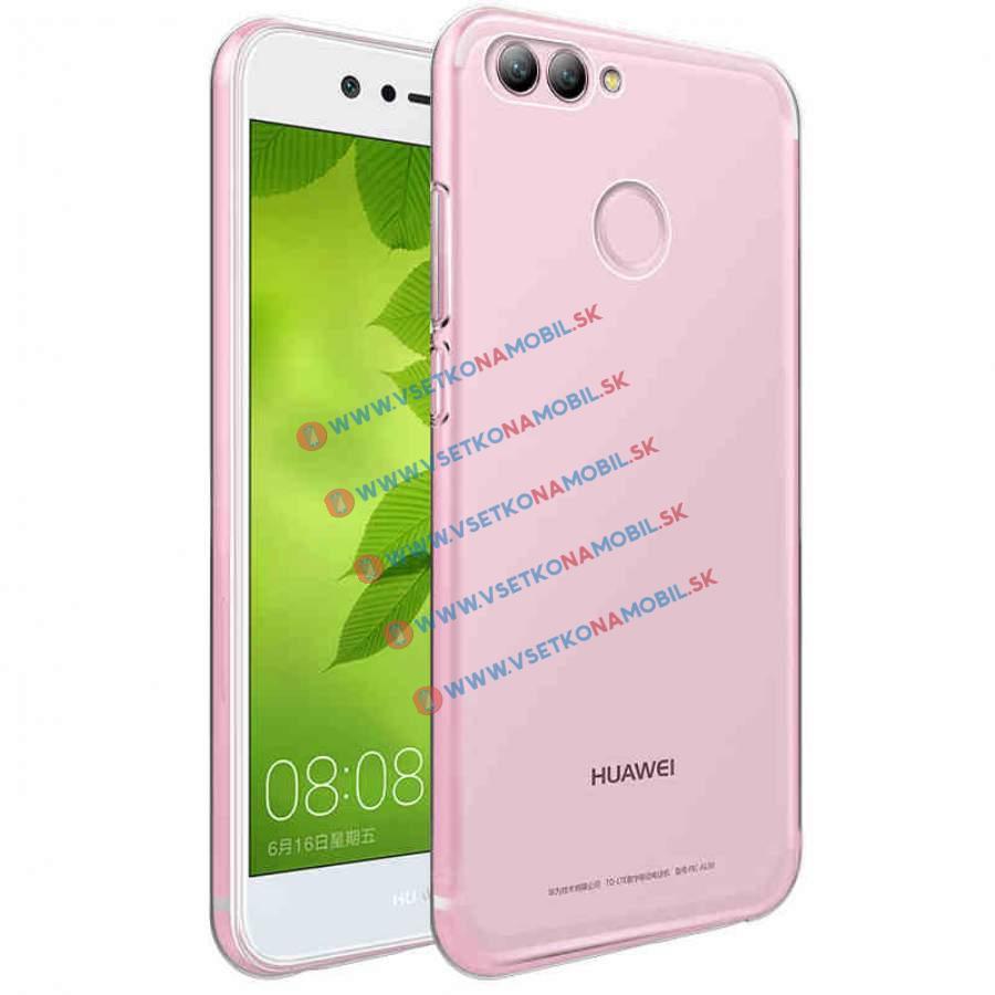 FORCELL Silikónový obal Huawei Nova 2 priehľadný