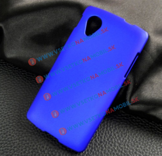 Plastový kryt LG Nexus 5 (Google Nexus 5) modrý