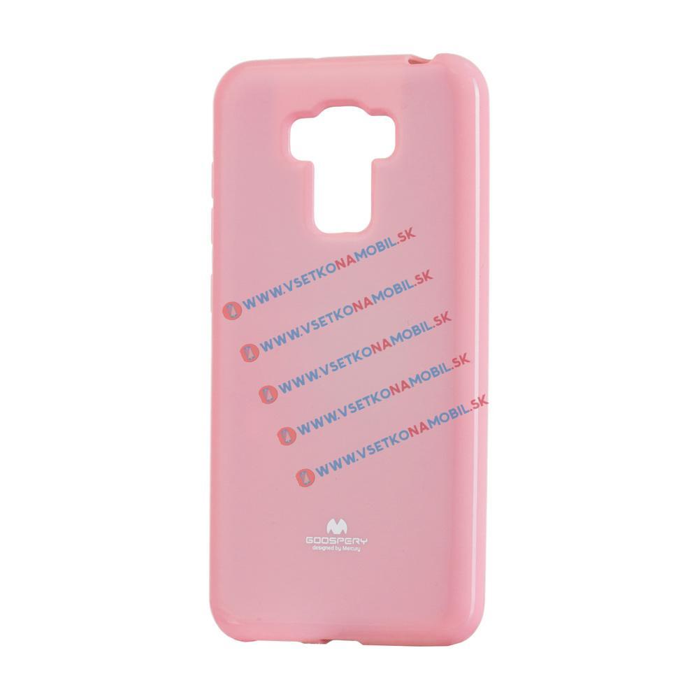 MERCURY JELLY TPU Asus Zenfone 3 Max ZC553KL ružový