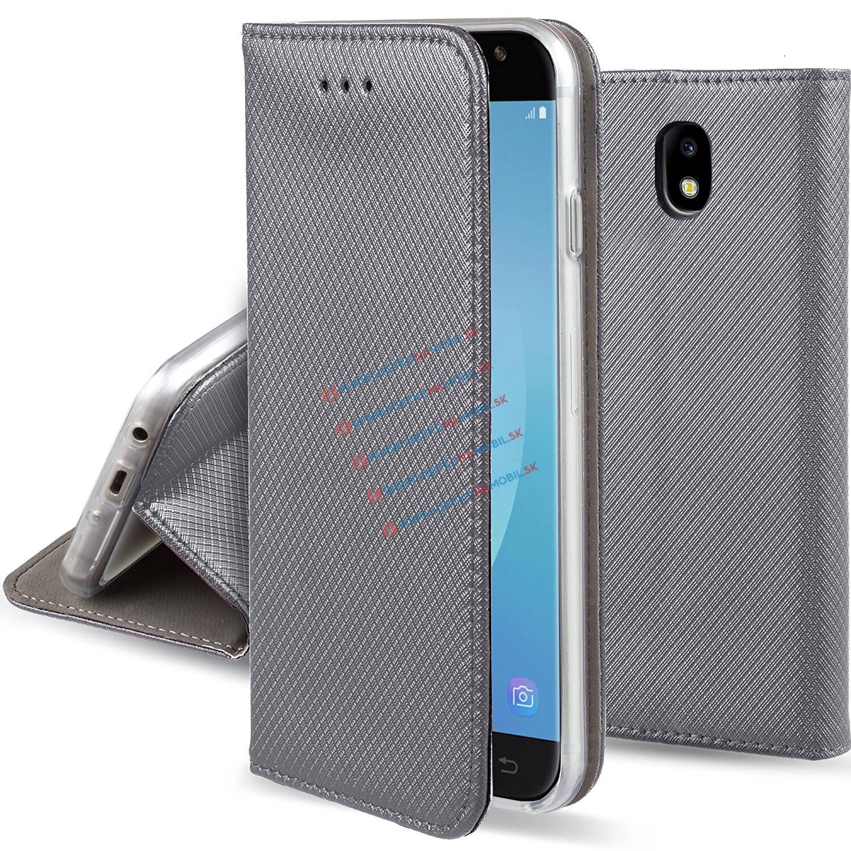 FORCELL MAGNET Peňaženkový obal Samsung Galaxy J5 2017 (J530) šedý