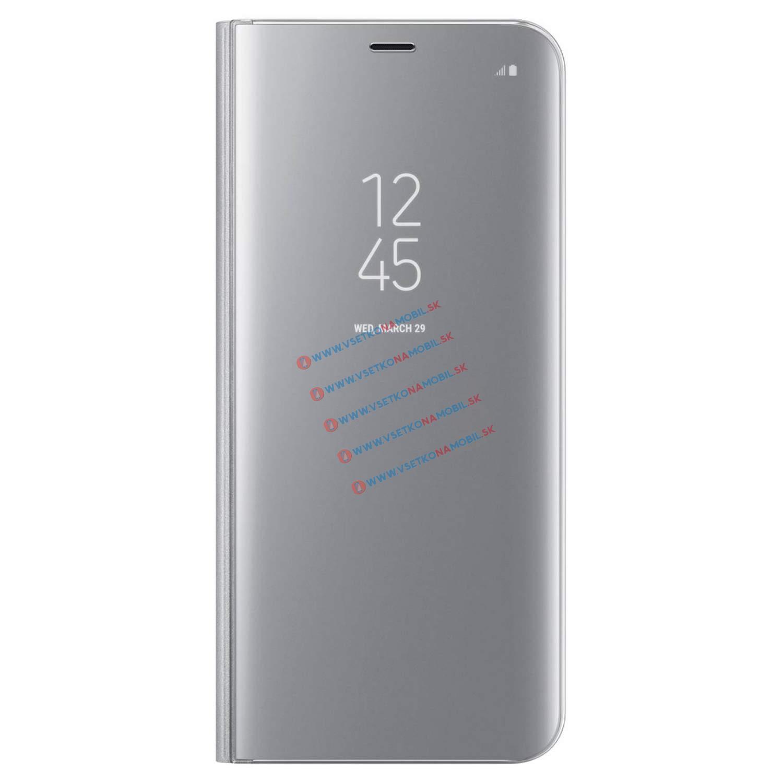 SAMSUNG CLEAR VIEW (EF-ZG950CS) Samsung Galaxy S8 stříbrný