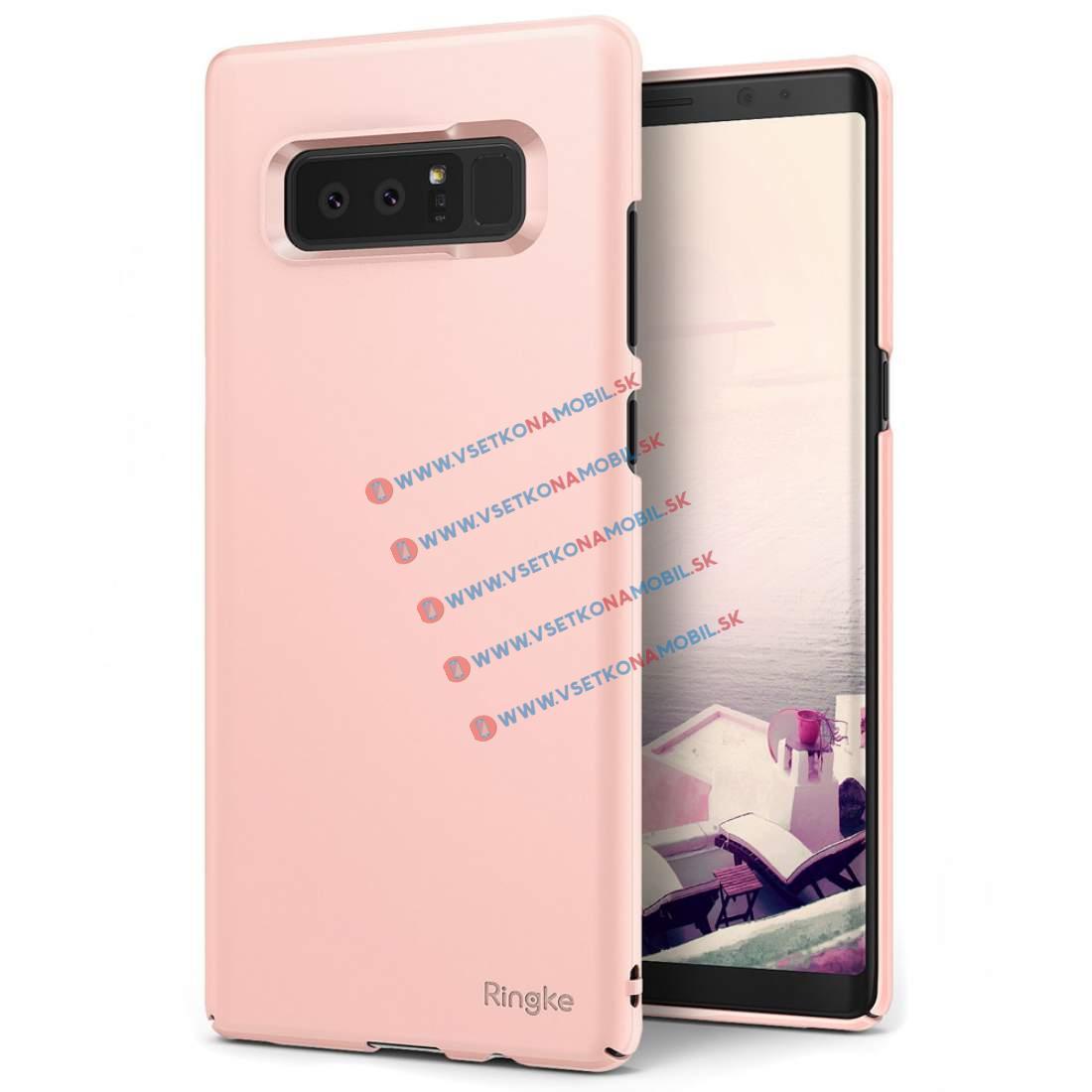 RINGKE SLIM PC Samsung Galaxy Note 8 růžový