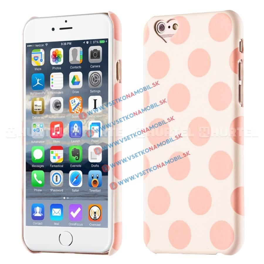 FORCELL Svietiaci obal Apple iPhone 6 / 6S ružový