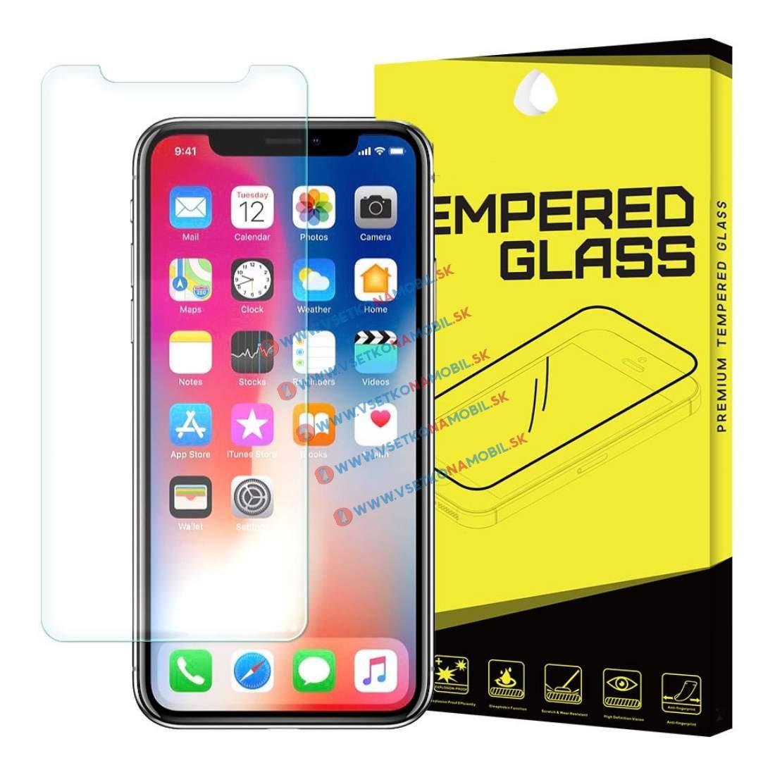 FORCELL Tvrzené (temperované) sklo Apple iPhone X / XS / 11 Pro