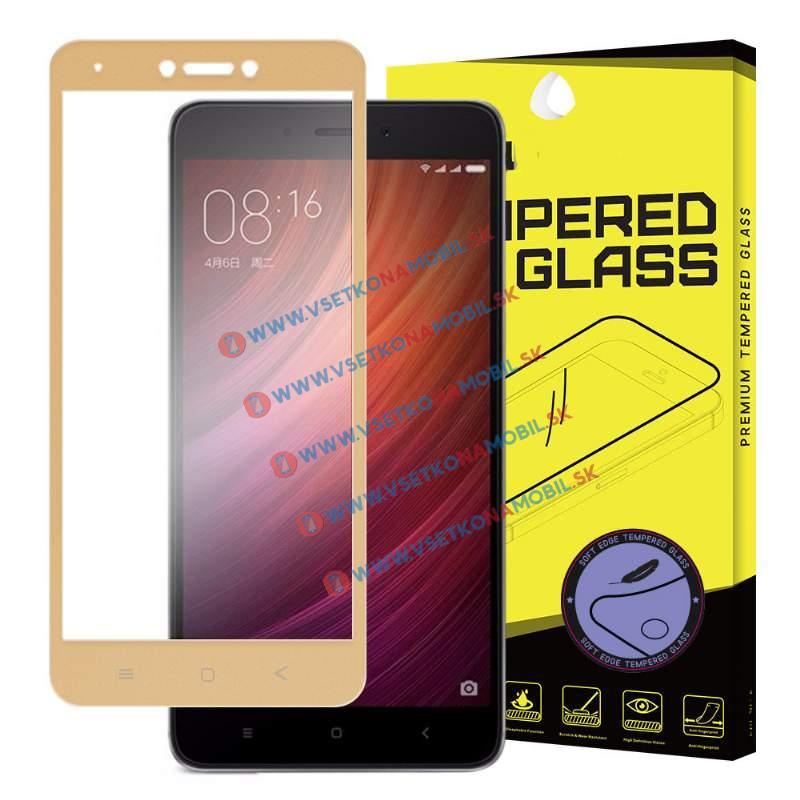 FORCELL 3D Tvrzené sklo Xiaomi Redmi Note 4 (GLOBAL) zlaté