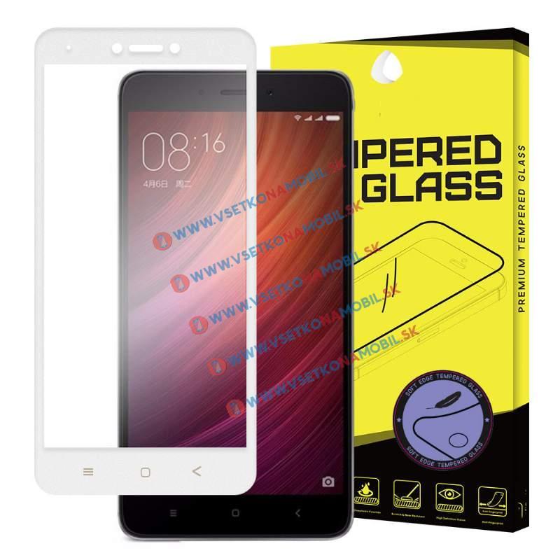 FORCELL 3D Tvrzené sklo Xiaomi Redmi Note 4 (GLOBAL) bílé