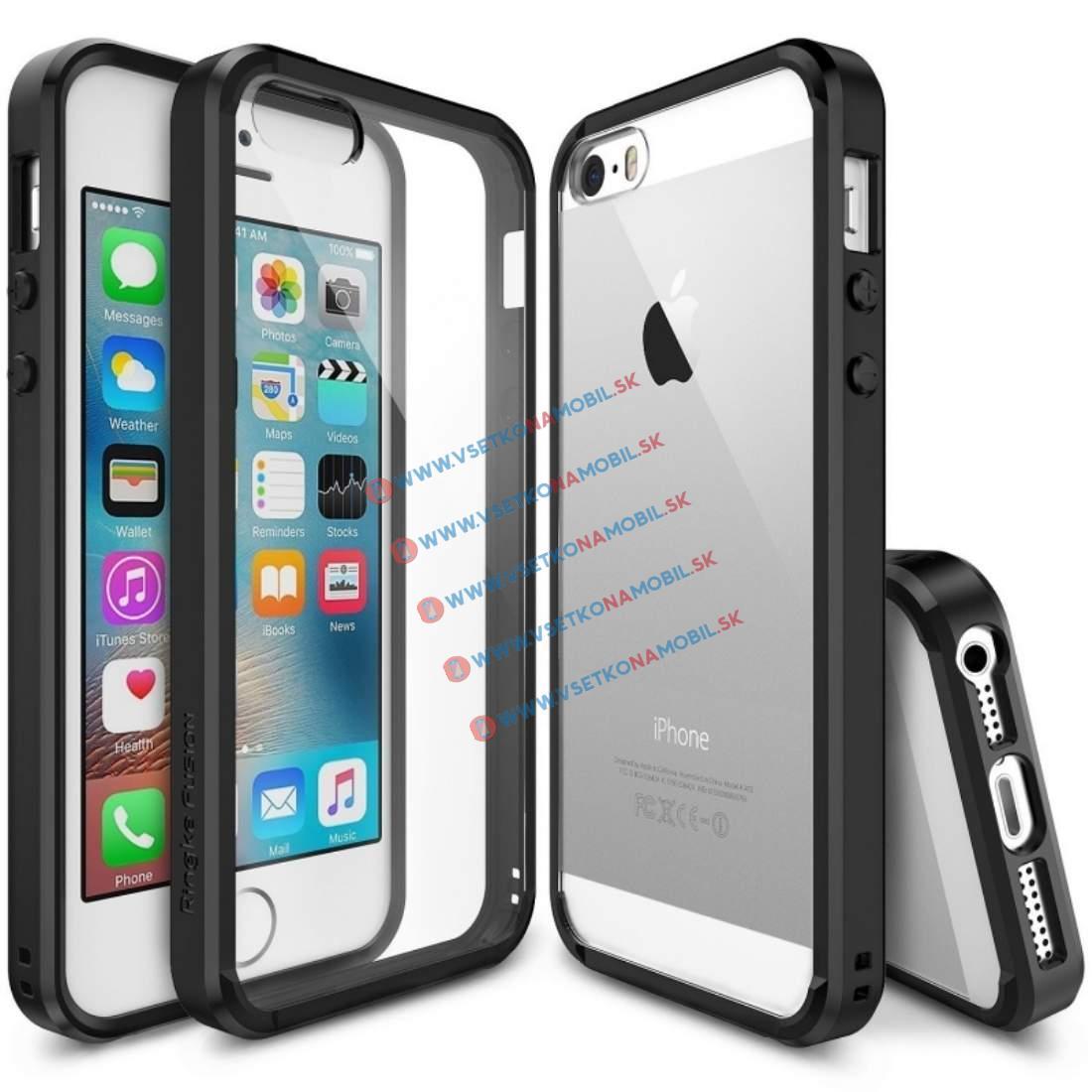 RINGKE FUSION Apple iPhone 5 / 5S / SE černý