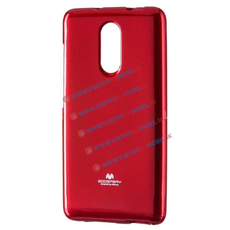 MERCURY JELLY Xiaomi Redmi Note 4 červený