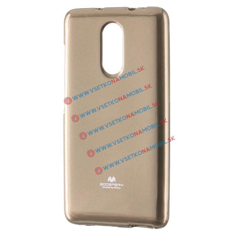 MERCURY JELLY Xiaomi Redmi Note 4 zlatý