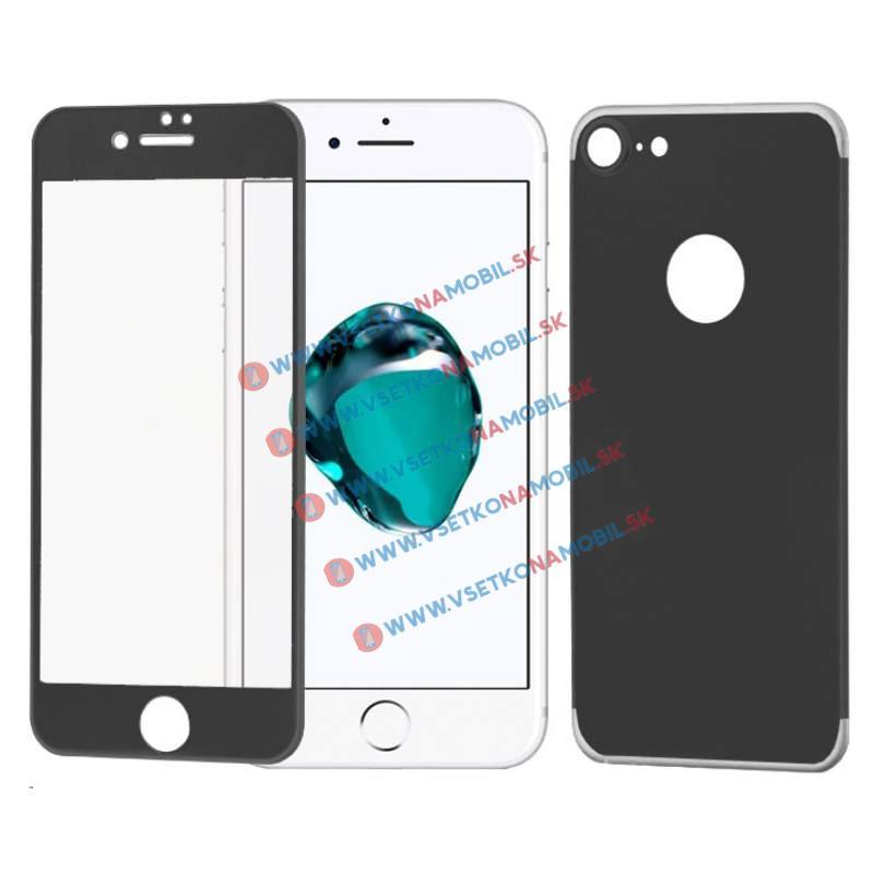 FORCELL 3D ALU Temperované sklo (PŘEDNÍ + ZADNÍ) Apple iPhone 7 černé
