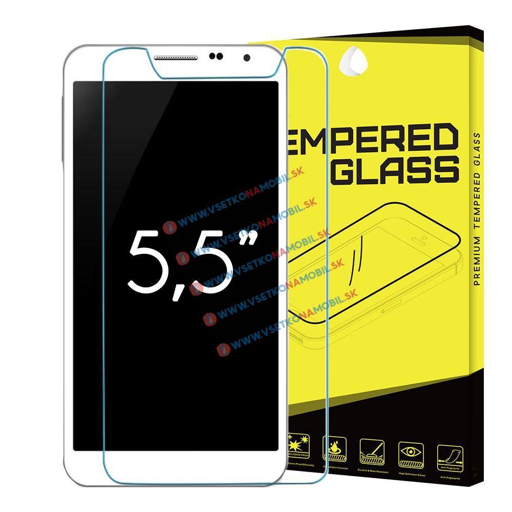 """FORCELL Univerzální tvrzené (temperované) sklo 5,5 """""""