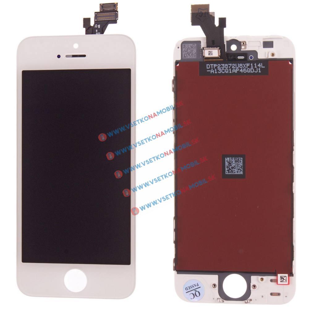 Apple iPhone 5 LCD Displej + dotyková plocha OEM bílý