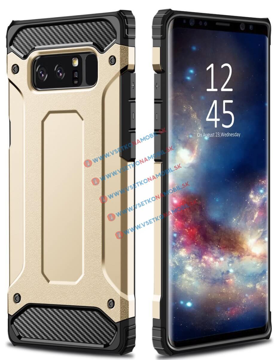TOUGH Ochranný kryt Samsung Galaxy Note 8 zlatý