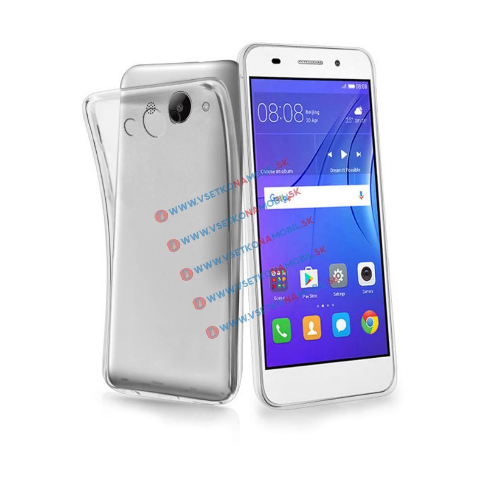 FORCELL Silikónový obal Huawei Y3 2017 priehľadný