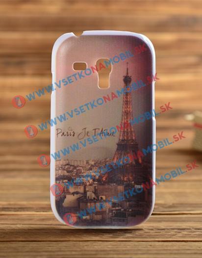 Plastový kryt Samsung Galaxy S3 mini Paris