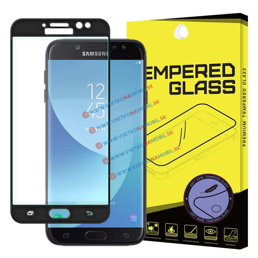 FORCELL 3D Tvrzené (temperované) sklo Samsung Galaxy J7 2017 (J730) černé