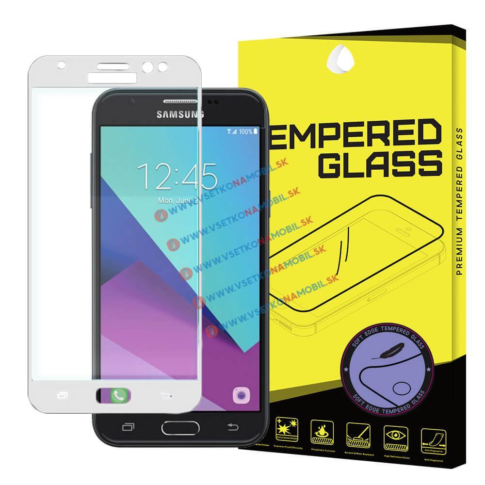 FORCELL 3D Tvrzené (temperované) sklo Samsung Galaxy J7 2017 (J730) bílé