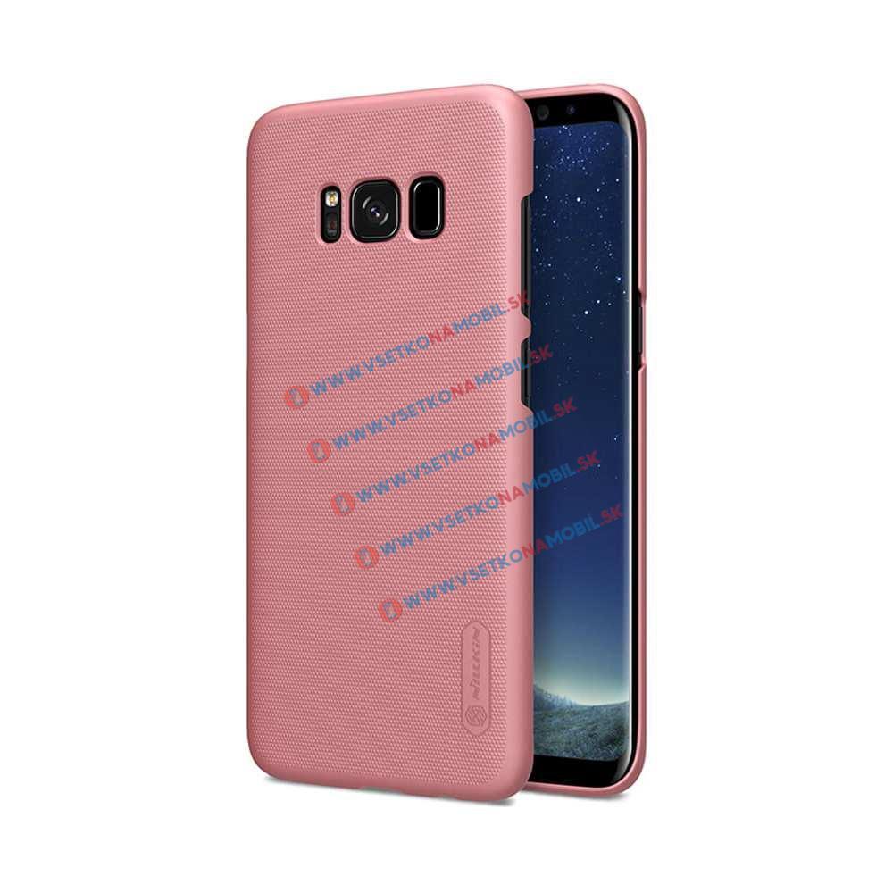 NILLKIN FROSTED Samsung Galaxy S8 + ochranná fólie růžový
