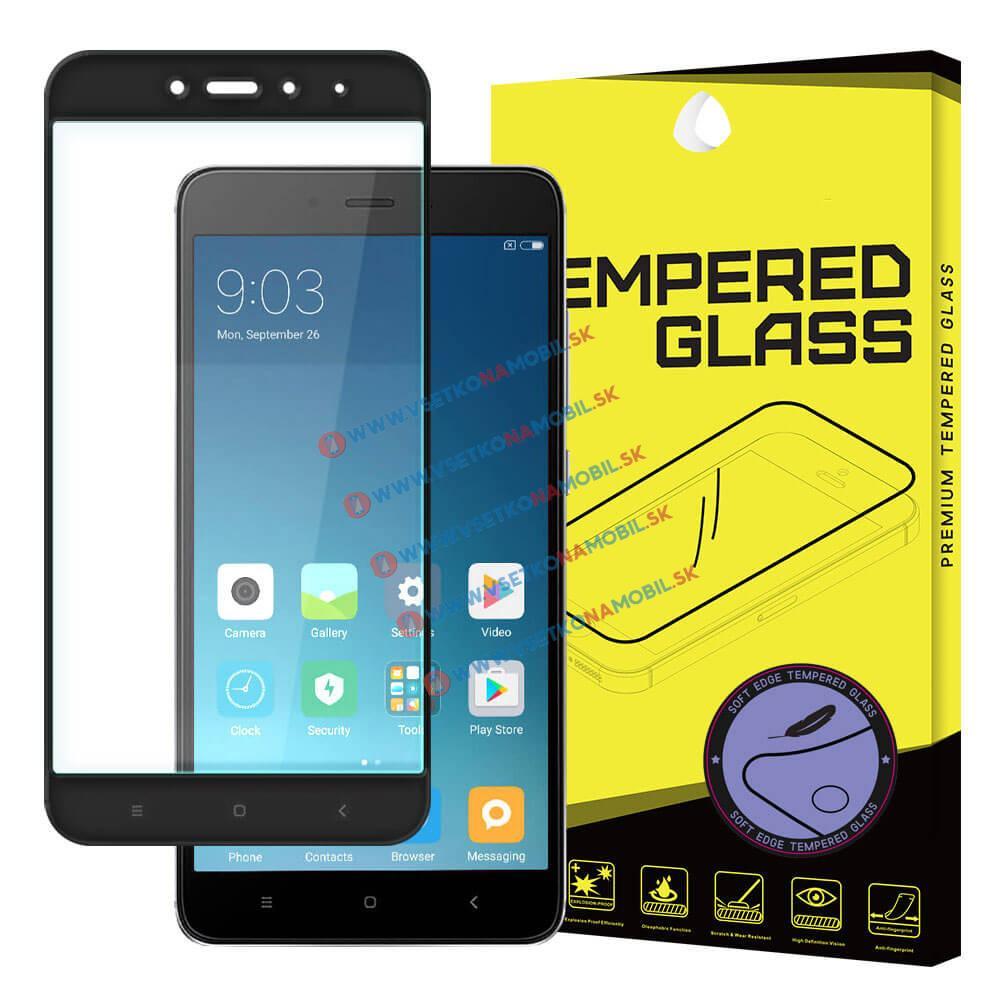 FORCELL 3D Tvrzené sklo Xiaomi Redmi Note 4 černé (mediatéka)