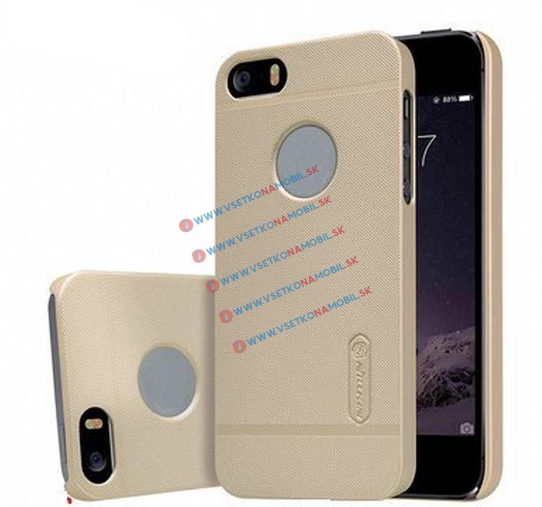 NILLKIN FROSTED SHIELD Apple iPhone 5 / 5S / SE + ochranná fólie béžový