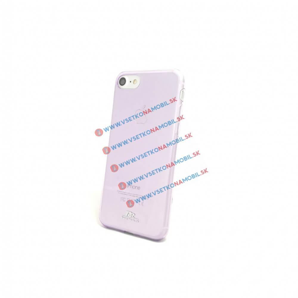 FORCELL ROAR Silikónový obal Apple iPhone 7 / iPhone 8 fialový