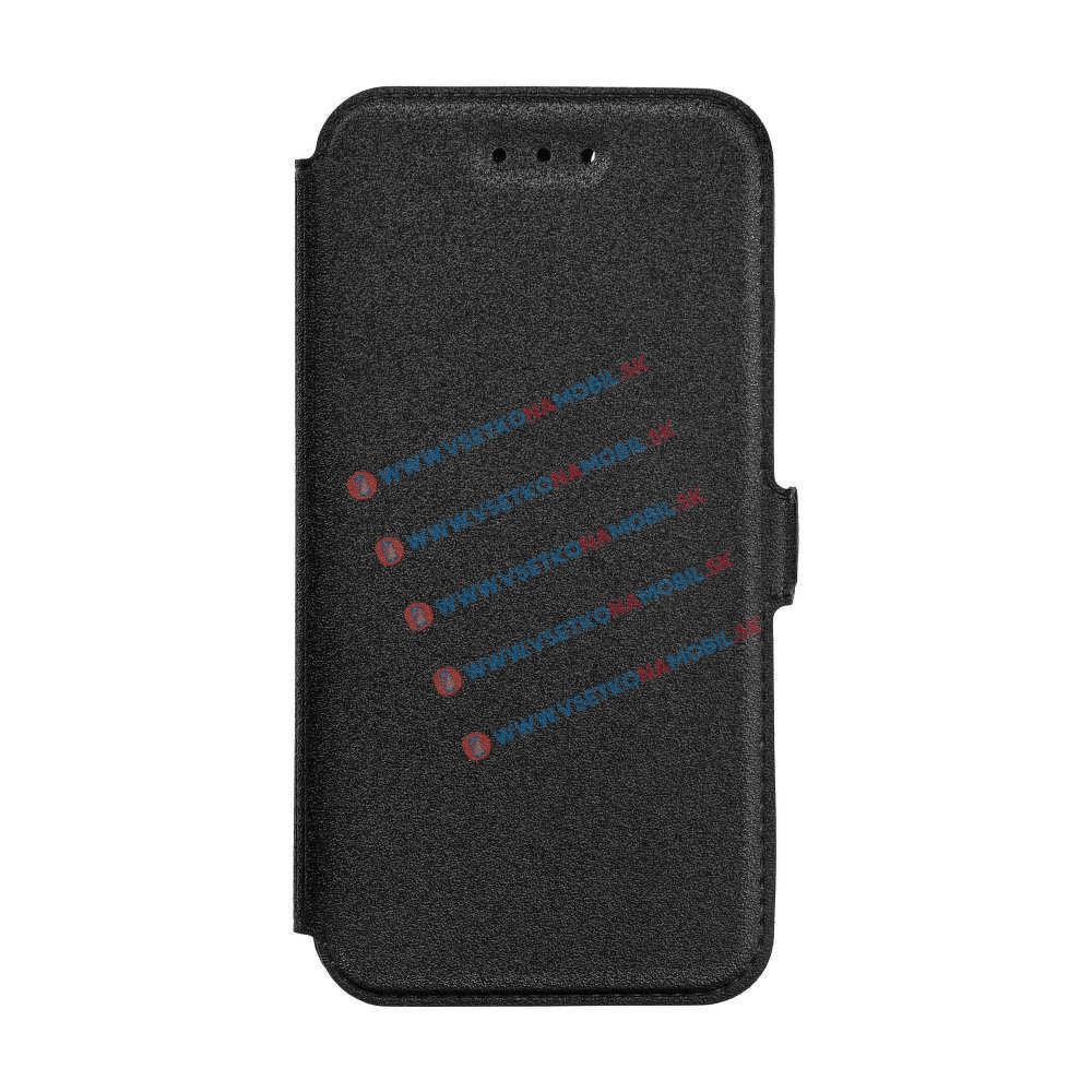FORCELL SMOOTH Ultratenký flip obal Huawei P9 Lite 2017 čierny