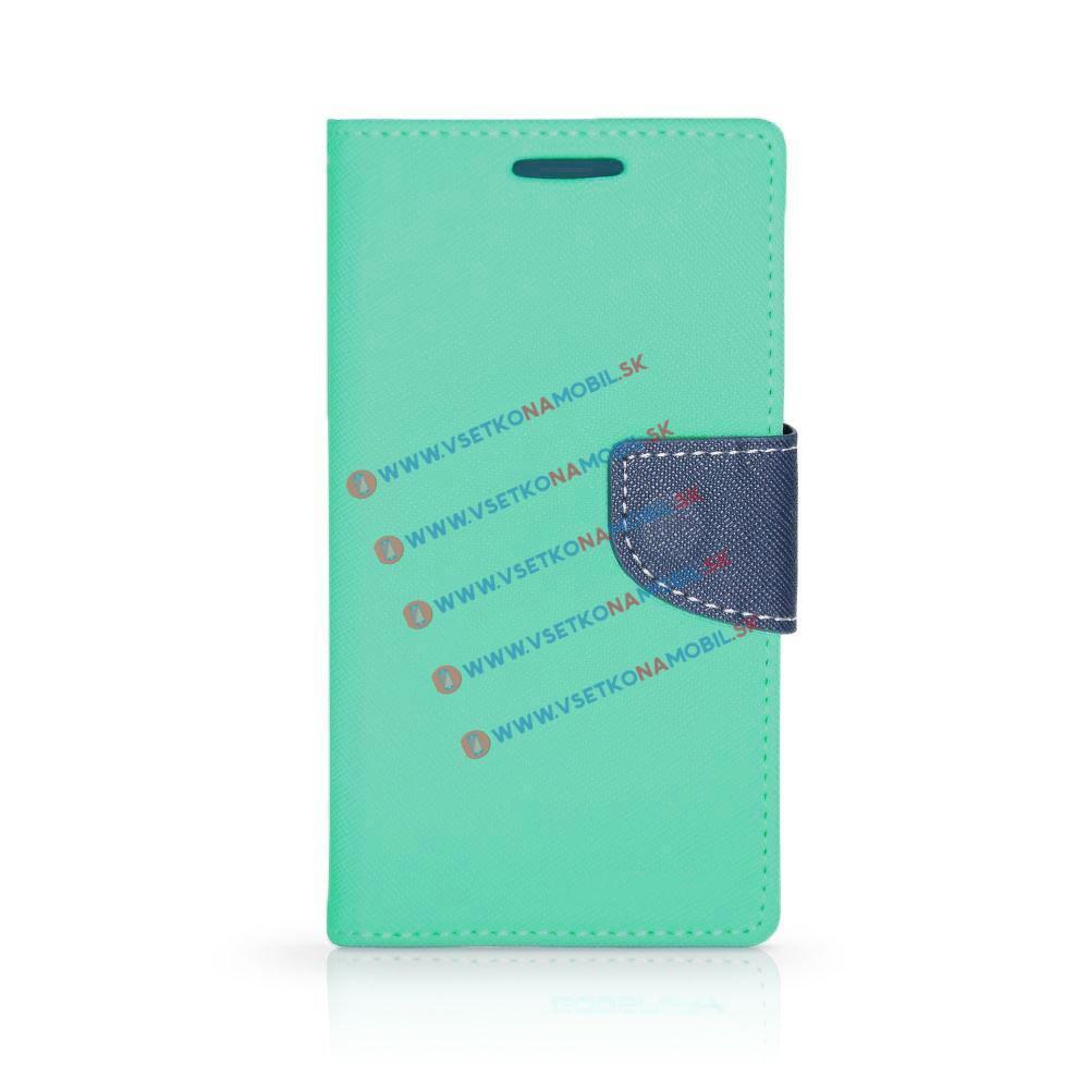 FORCELL FANCY Peňaženkový obal Samsung Galaxy J5 2017 (J530) mentolový
