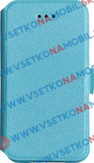 SMOOTH Peňaženkový obal LG K10 2017 modrý