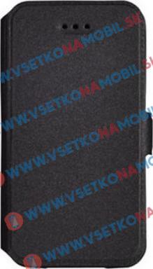 SMOOTH Peňaženkový obal LG K10 2017 čierny