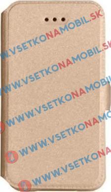 SMOOTH Peňaženkový obal Samsung Galaxy J5 2016 (J510) zlatý