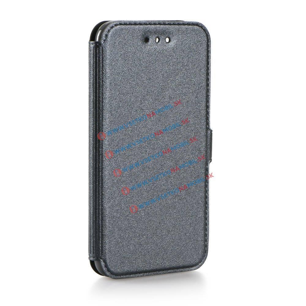 SMOOTH Peňaženkový obal Samsung Galaxy J5 2016 (J510) šedý