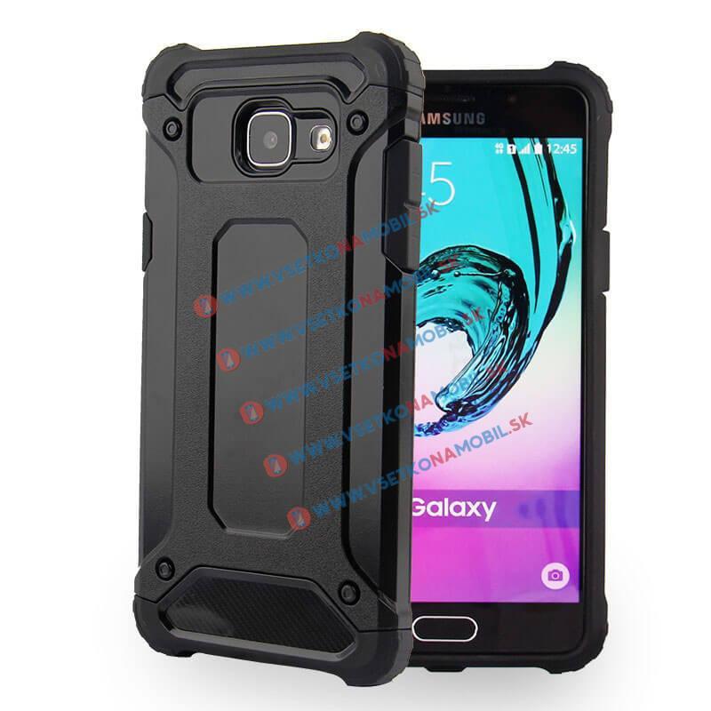 TOUGH Ochranný kryt Samsung Galaxy A5 2016 (A510) čierny