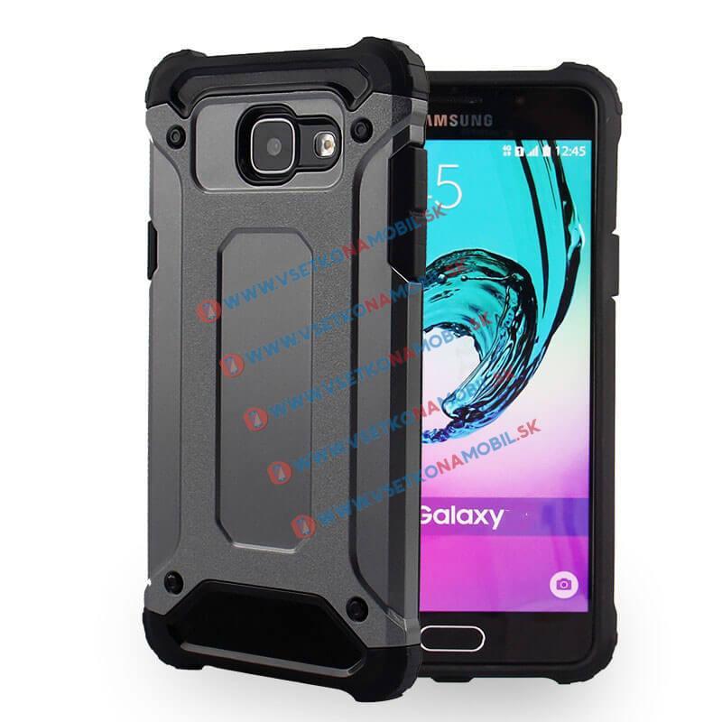 TOUGH Ochranný kryt Samsung Galaxy A5 2016 (A510) šedý