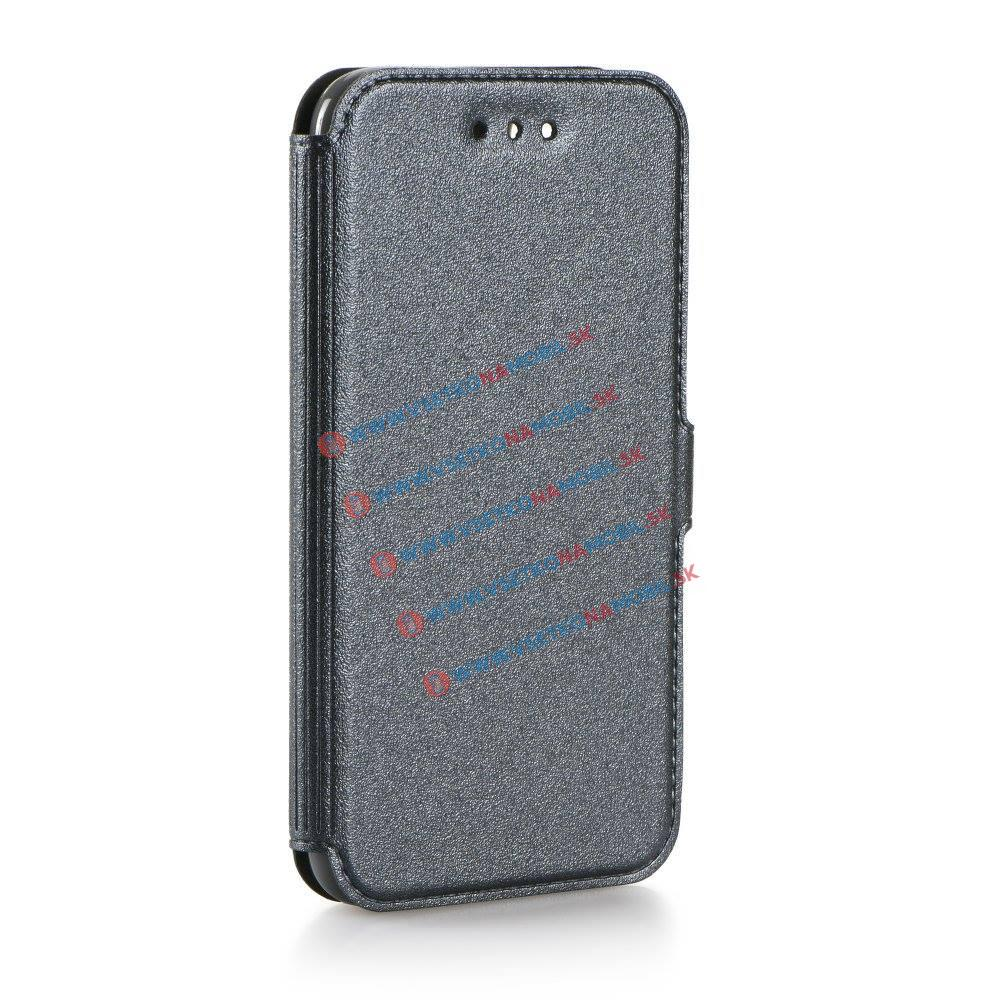 SMOOTH Peňaženkový obal Samsung Galaxy A5 2016 (A510) šedý