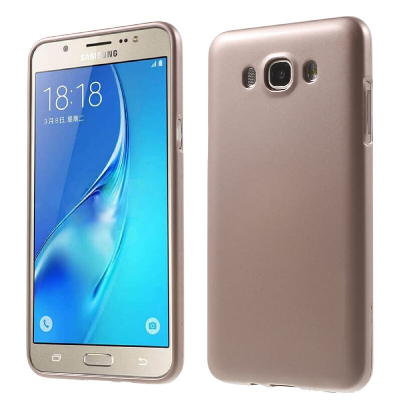 JELLY TPU obal Samsung Galaxy J5 2016 (J510) zlatý