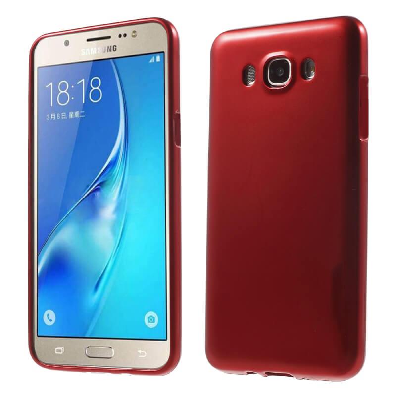 JELLY TPU obal Samsung Galaxy J5 2016 (J510) červený