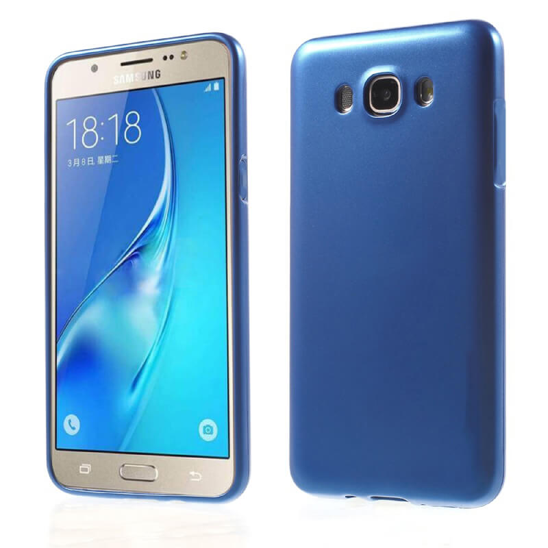 JELLY TPU obal Samsung Galaxy J5 2016 (J510) modrý