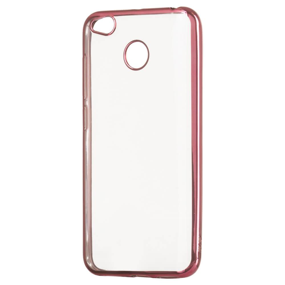 FORCELL METALLIC Silikónový obal Xiaomi Redmi 4X ružový
