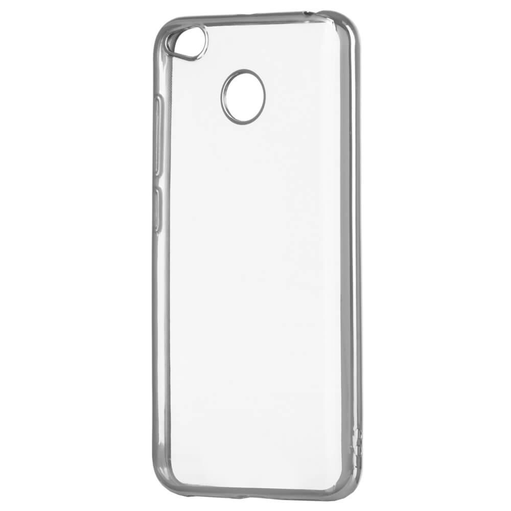 FORCELL METALLIC Silikónový obal Xiaomi Redmi 4X strieborný