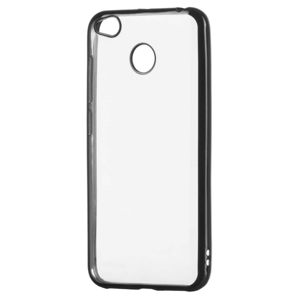 FORCELL METALLIC Silikónový obal Xiaomi Redmi 4X čierny