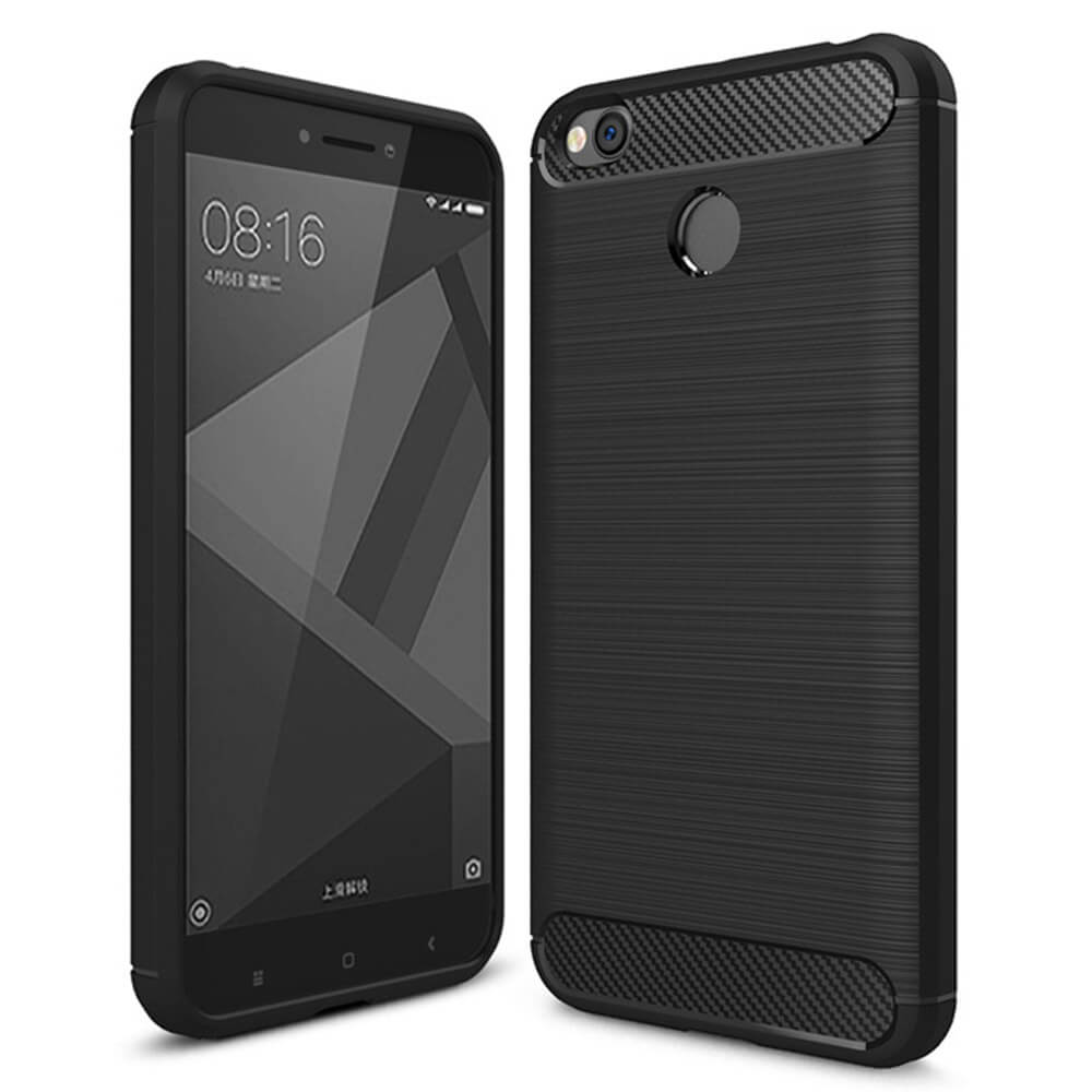 FLEXI TPU Ochranný kryt Xiaomi Redmi 4X černý