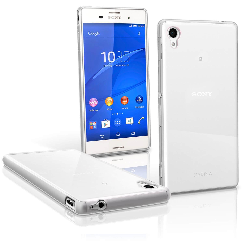 FORCELL Silikonový obal Sony Xperia M4 Aqua průhledný