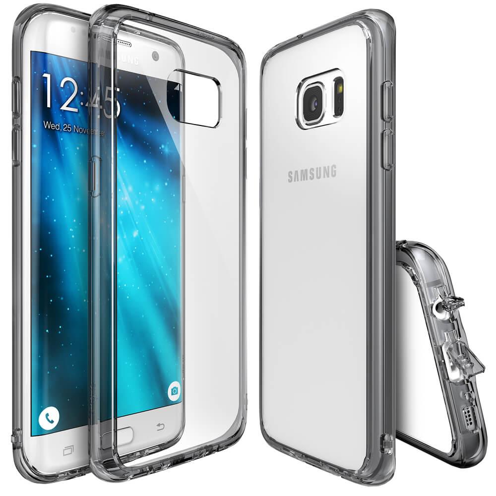 RINGKE FUSION Samsung Galaxy S7 Edge šedý